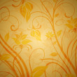 Royalty-Free Stock Photo: Vintage background with floral pattern