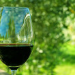 Stock Photo: Red wine glass