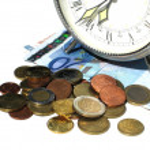 Time money — Stock Photo