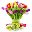 Beautiful bunch of flowers — Stock Photo #15876319