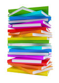 Pile of colorful books — Stock Photo