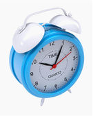 Blue alarm clock — Stock Photo