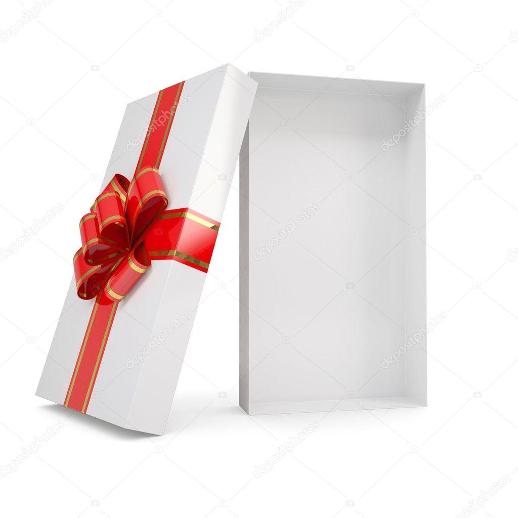 open gift box stock photo cherezoff 18648083. Black Bedroom Furniture Sets. Home Design Ideas