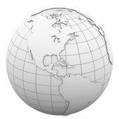 White globe — Foto Stock