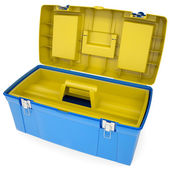 Plastic tool box — Stock Photo