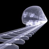 The new high-speed train — Stock Photo