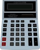 Electornic calculator — Stock Vector