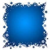 Kerstmis frame — Stockfoto
