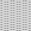 Stock Photo: White woven rattan
