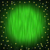 Closed curtain and little stars — Stock Photo