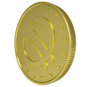 Gold euro — Stock Photo