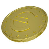 Gold euro — Stock Photo
