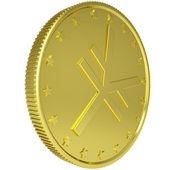 Gold yen — Stock Photo