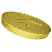 Gold yen — Stock Photo