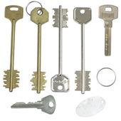 Keys to the door — Stock Photo
