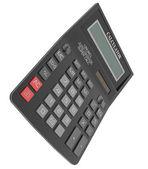 Kalkulator czarny — Zdjęcie stockowe