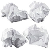 Crumpled paper — Stock Photo