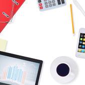 Office supplies — Stock Photo