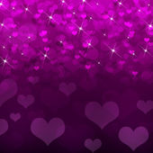Abstract background of magenta hearts — Stock Photo