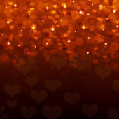 Abstract background of red hearts — Stok fotoğraf