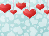 Abstract background of hearts — Stok fotoğraf