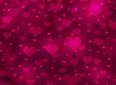 Abstract background of hearts — Photo