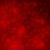 Abstract background of hearts — Stock fotografie