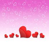 Kalplerin arka plan — Stok fotoğraf