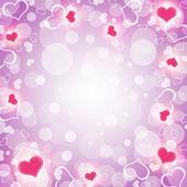 Antecedentes de corazones — Foto de Stock