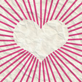 Abstract frame of heart — Stock Photo