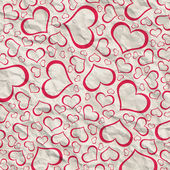 Abstract background of hearts — Stock Photo