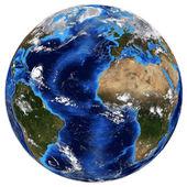 Photorealistic Earth — Stock Photo