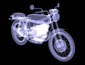 Motorcycle. X-Ray — Stock Photo
