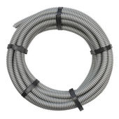 Flexible hose for installation of electrical cable — Stock Photo