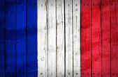 Flaga włoch malowane na drewnianych tacach — Zdjęcie stockowe