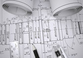 Engineering drawings — Stok fotoğraf