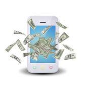 Banconote dollari — Foto Stock