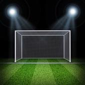 Futbol kapısı — Stok fotoğraf