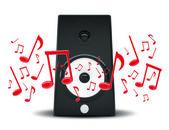 Audio speakers — Stock Photo
