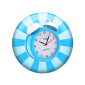 Alarm clock. Spherical glossy button — Photo