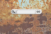 Search bar in browser — Stock Photo