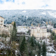 Stock Photo: Old Buildings in Bad Gastein