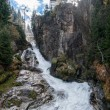 Stock Photo: Waterfall in Bad Gastein