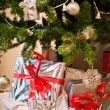 Present under Christmas Tree — Foto de Stock