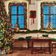 Stockfoto: Celebrate Christmas in Country