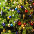 Detail of a Christmas Tree — Foto Stock