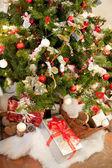 Rural Christmas Tree — Stock Photo