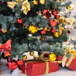 Christmas Gifts under the Tree — Stockfoto