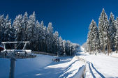 Ski Resort in Austria — Foto Stock
