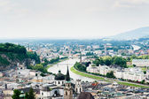 Salzburg from Above — Stock Photo